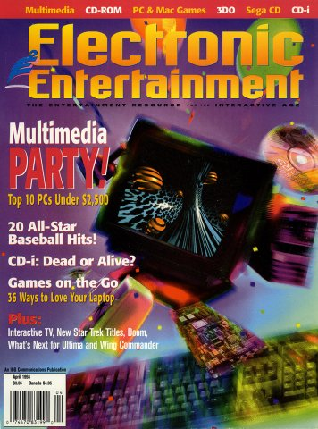 Electronic Entertainment Vol.1 No.04 (April 1994)