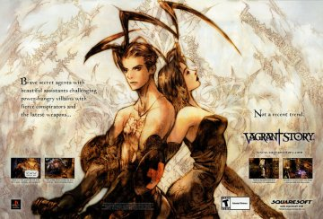 Vagrant Story Ad spread
