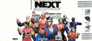 Next Generation issue 01 unfolded cover