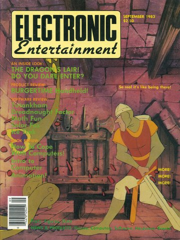 Electronic Entertainment (September 1983)
