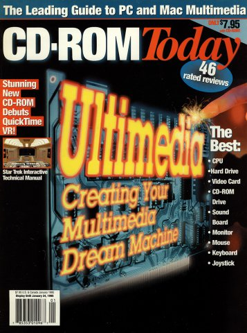 CD-ROM Today 11 January 1995