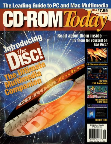 CD-ROM Today 05 April/May 1994