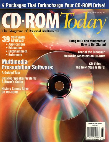 CD-ROM Today 02 Fall 1993