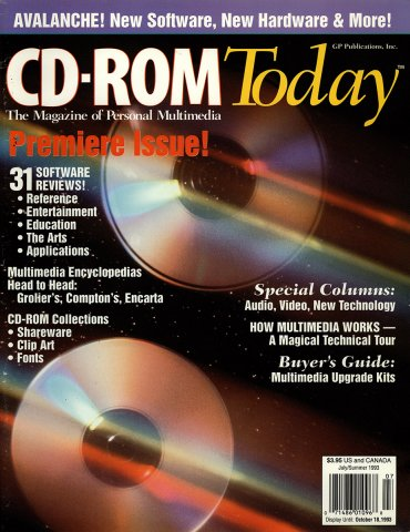 CD-ROM Today 01 July/Summer 1993