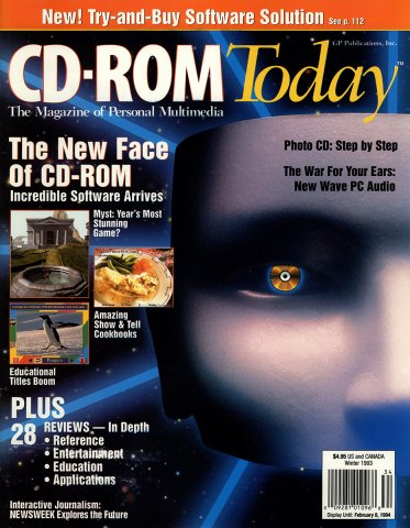 CD-ROM Today 03 Winter 1993