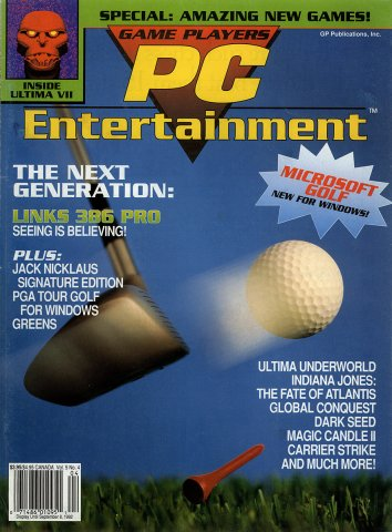 Game Players PC Entertainment Vol.5 No.4 (July/August 1992)