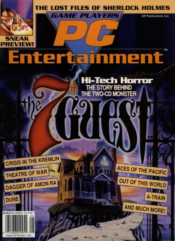 Game Players PC Entertainment Vol.5 No.5 (September/October 1992)
