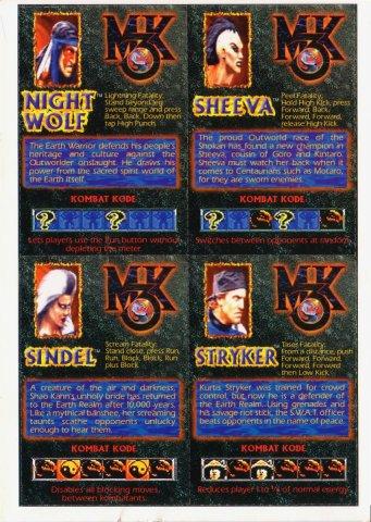 MK3 Cards #1 Back