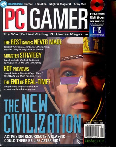 PC Gamer Issue 051 August 1998