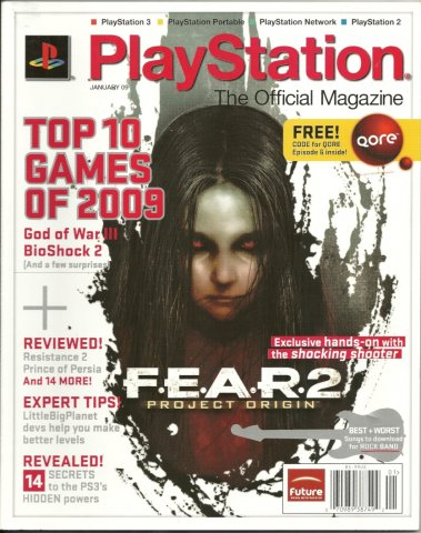PlayStation The Official Magazine (USA) Issue 015 January 2009