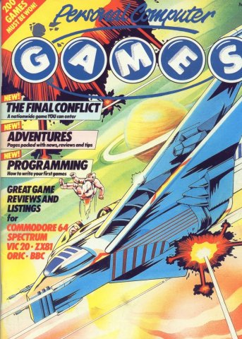 Personal Computer Games Issue 6