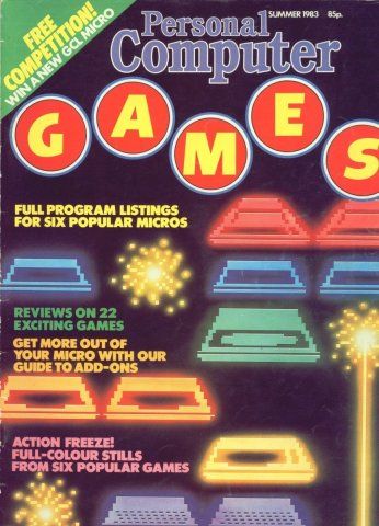 Personal Computer Games Issue 1