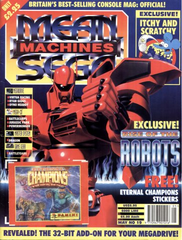 Mean Machines Sega Issue 19 (May 1994)
