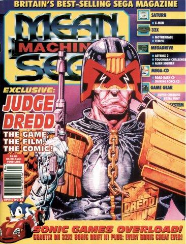 Mean Machines Sega Issue 30 (April 1995)