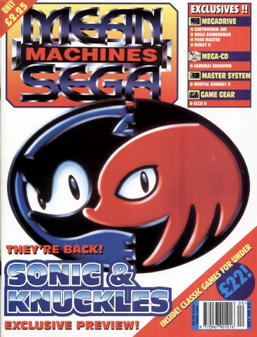 Mean Machines Sega Issue 24 (October 1994)