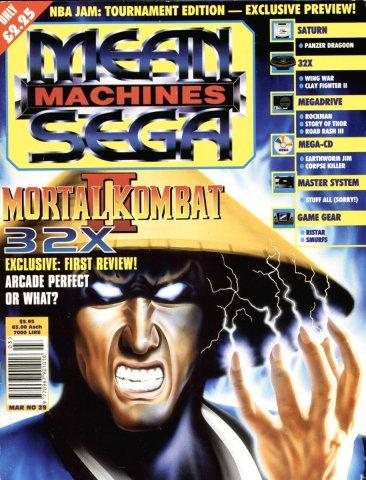 Mean Machines Sega Issue 29 (March 1995)
