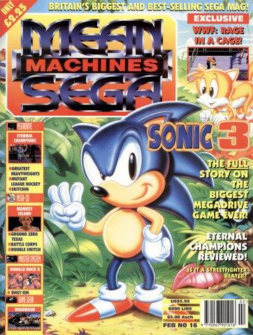 Mean Machines Sega Issue 16 (February 1994)