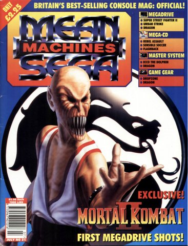 Mean Machines Sega Issue 21 (July 1994)