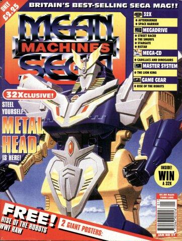 Mean Machines Sega Issue 27 (January 1995)