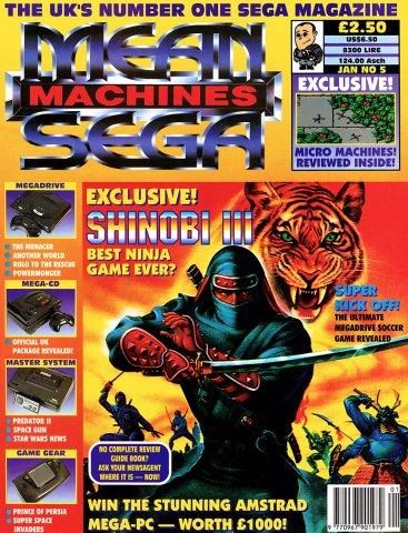 Mean Machines Sega Issue 04 (January 1993)