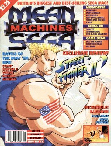 Mean Machines Sega Issue 13 (November 1993)