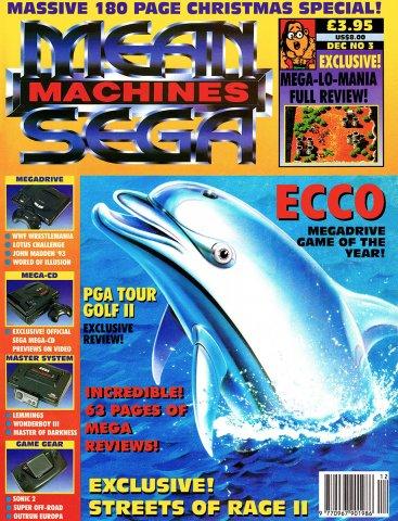 Mean Machines Sega Issue 03 (December 1992)