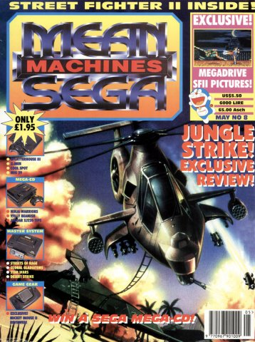 Mean Machines Sega Issue 08 (May 1993)