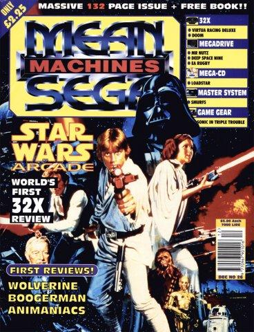 Mean Machines Sega Issue 26 (December 1994)