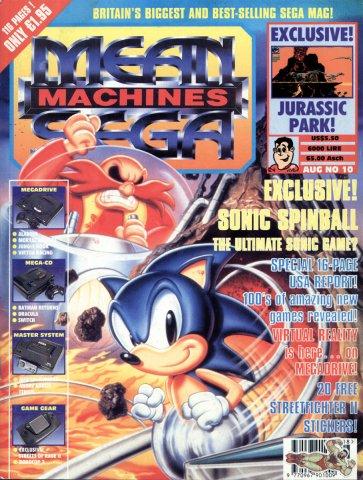 Mean Machines Sega Issue 10 (August 1993)