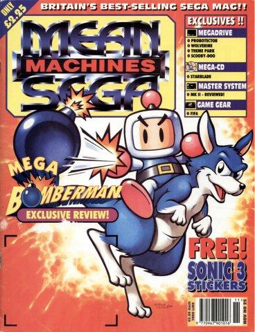 Mean Machines Sega Issue 25 (November 1994)
