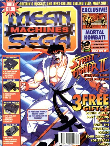 Mean Machines Sega Issue 09 (July 1993)
