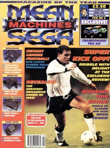 Mean Machines Sega Issue 05 (February 1993)