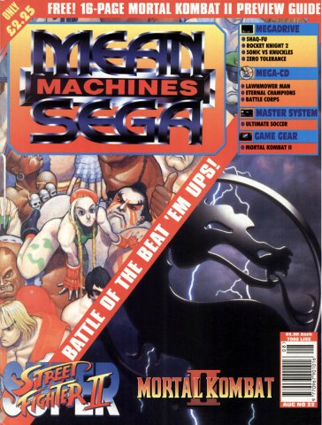 Mean Machines Sega Issue 22 (August 1994)