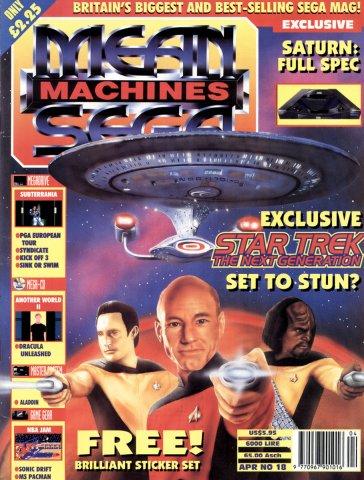 Mean Machines Sega Issue 18 (April 1994)