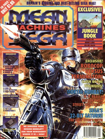 Mean Machines Sega Issue 11 (September 1993)