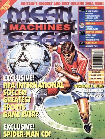 Mean Machines Sega Issue 14 (December 1993)