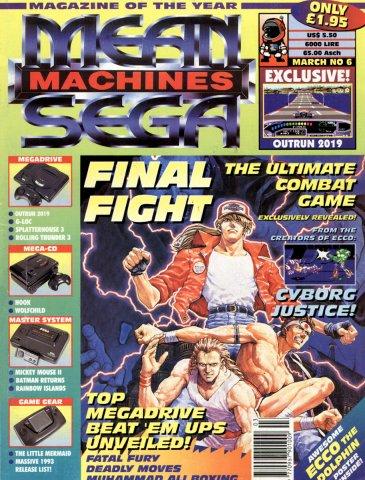 Mean Machines Sega Issue 06 (March 1993)