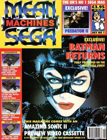 Mean Machines Sega Issue 01 (October 1992)
