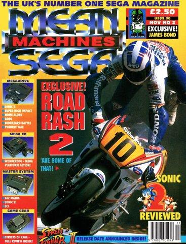 Mean Machines Sega Issue 02 (November 1992)