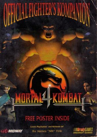 Mortal Kombat 4 Official Fighter's Kompanion