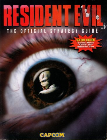 Resident Evil The Official Strategy Guide Special Edition