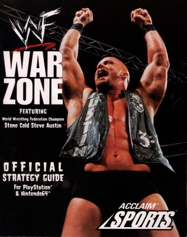 WWF War Zone Official Strategy Guide For PlayStation & Nintendo64