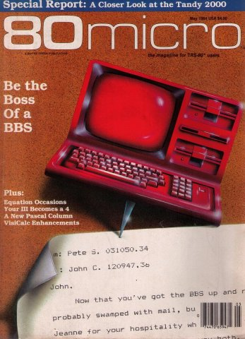 80 Microcomputing Issue 052 May 1984