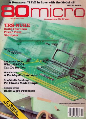 80 Microcomputing Issue 050 March 1984