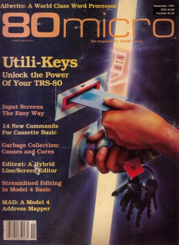 80 Microcomputing Issue 058 November 1984
