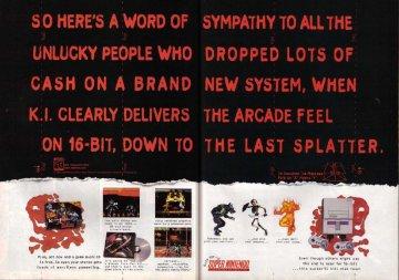 Killer Instinct SNES ad 1995