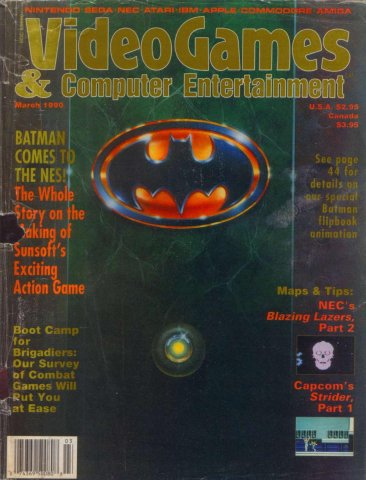 Video Games & Computer Entertainment Issue 14 March 1990