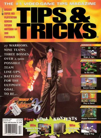 Tips & Tricks Issue 022 December 1996