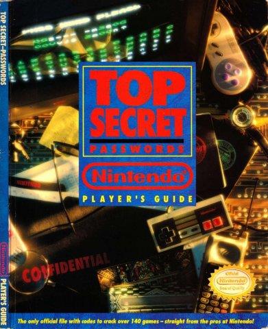 Top Secret Passwords Nintendo Player's Guide