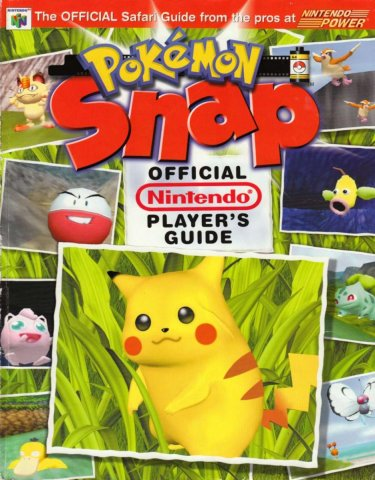 Pokemon Snap Official Nintendo Player's Guide